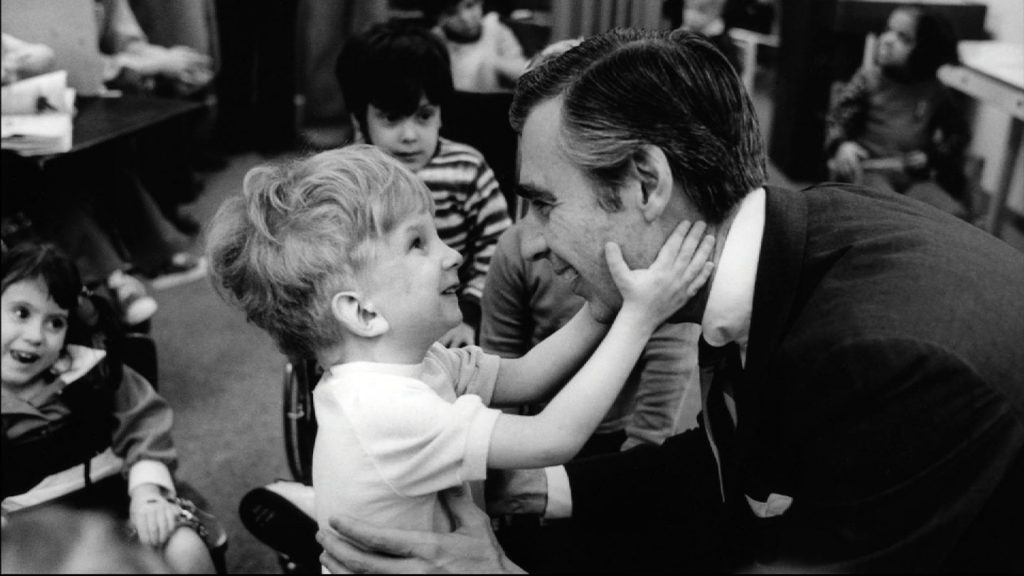 Mr. Rogers Helping Others