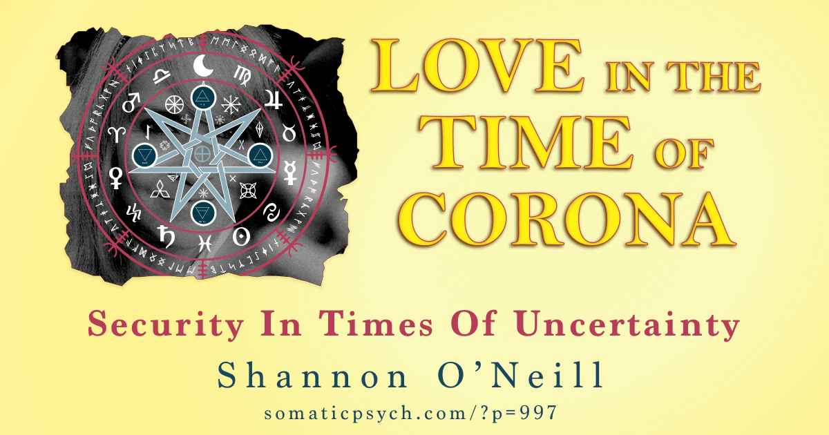 Love In The Time of Corona - Security in Times of Uncertainty by Shannon O'Neill